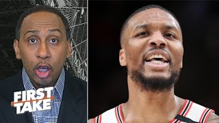 I hate to say it, but Damian Lillard is not part of the NBA MVP discussion - Stephen A. | First Take