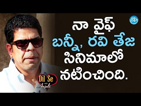 Murali Sharma About His Wife || Dil Se With Anjali