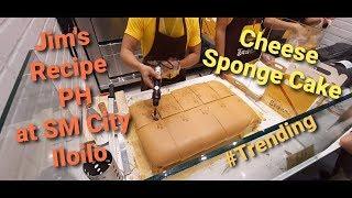 SPONGE CAKE  TASTE OF TRADITION  JIM&#39S RECIPE PH  SM CITY ILOILO  BY THE PINEAPPLE FAMILY