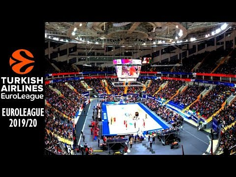 EuroLeague Basketball Arenas 2019/20