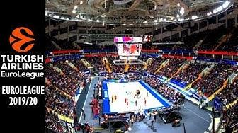 EuroLeague Basketball Arenas 2019/20