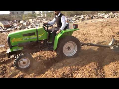 Indo Farm 26hp tractor testing