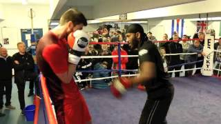 ROCKY FIELDING - COMPLETE WORKOUT FOOTAGE / WHO