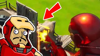 IRON MAN VICTORY ROYALE | Roach Plays Fortnite (The Squad)