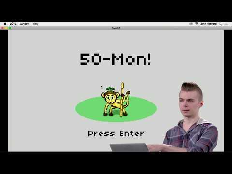 Pokémon - Lecture 7 - CS50's Introduction To Game Development 2018