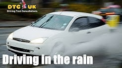 Unknown Secret - How to deal with Rain in Driving Test | DTC-UK | Driving Test UK