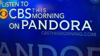 """CBS This Morning"" starts Pandora streaming station"