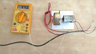 (440v)AC jeneratör(12 V) DC motor