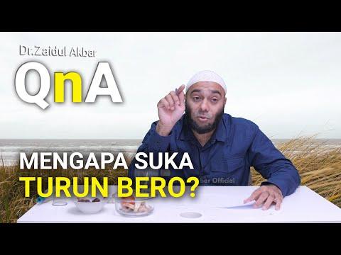 Mengapa Suka Turun Bero? - Dr. Zaidul Akbar Official