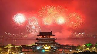 Happy Chinese Music Chinese Fireworks
