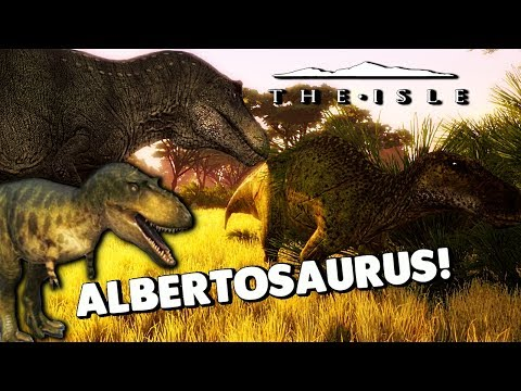 The Isle - ALBERTOSAURUS ANIMATIONS, REX CAN EAT BODIES WHOLE, NEW MAIA SOUNDS & ANIMS ( Gameplay )
