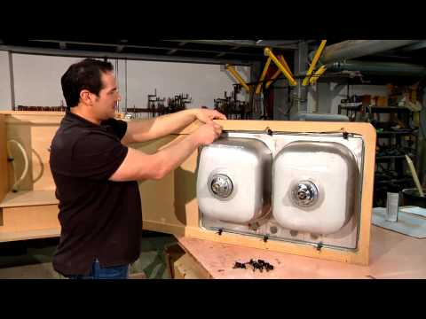 How to Install a Sink : Home Sweet Home Repair