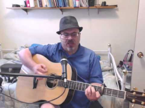 blowin in the wind (Bob Dylan Cover) with lyrics and chords - YouTube