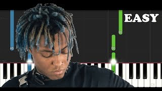 Juice Wrld - Legends (EASY Piano Tutorial)