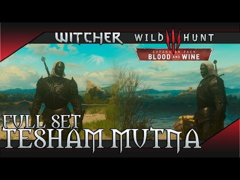 The Witcher 3: Blood And Wine - Tesham Mutna Armor Set (Vampiric Aura) Location & Showcase