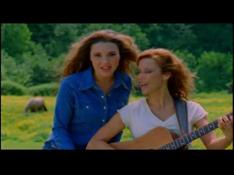 Hot Mom and Daughter Duo Baker Girls Country and Western Music Video