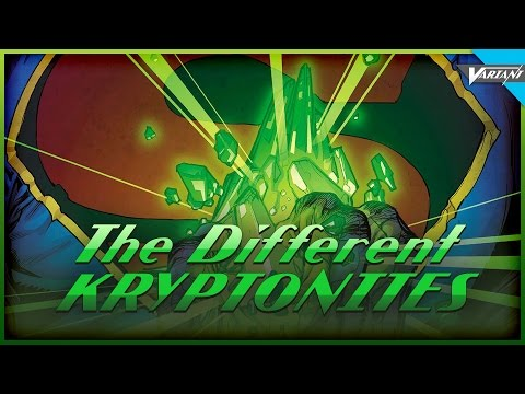 The Different Versions Of Kryptonite!