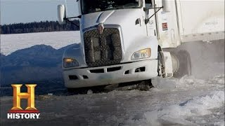 Ice Road Truckers: Art Goes Through the Ice (S9, E7) | History
