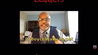 Dr Boyce Watkins:  How some civil rights leaders embarrass us
