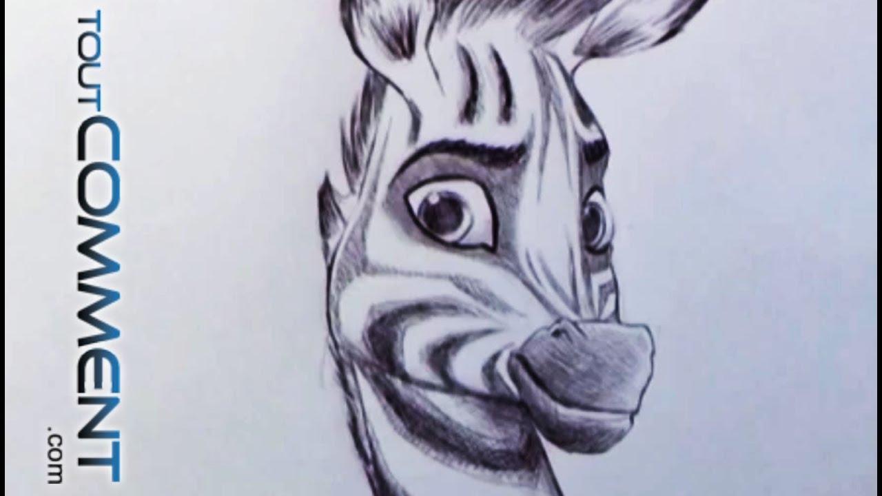 Dessiner le z bre khumba youtube - Zebre a dessiner ...