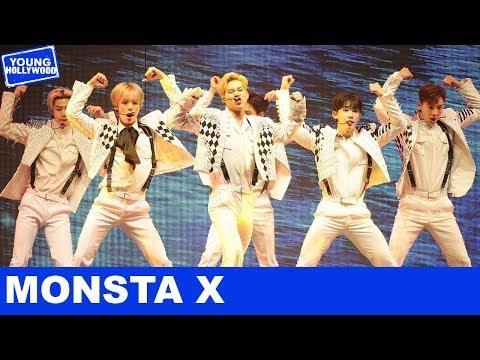 Monsta X Teaches How To Do Aegyo & Each Reveal Fun Hidden Facts!