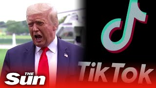 Donald Trump says he is considering banning TikTok