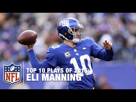 Top 10 Eli Manning Plays of 2015 | NFL