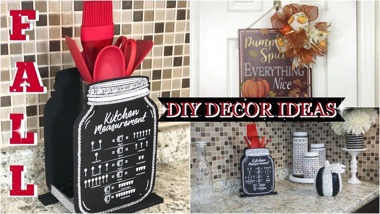Diy Dollar Tree Fall Home Decor Ideas 2019 Autumn Diy