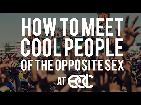 How To Meet Cool People At EDC | Rave Train TV