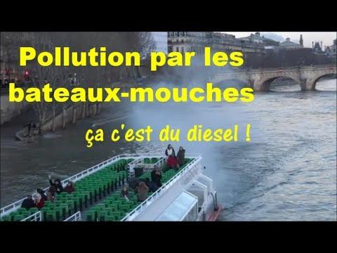 Pollution diesel par les bateaux-mouches parisiens 4 mars 2018