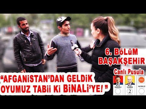 Başakşehir'de Bir Garip Seçim Röportajı!  İstanbul Seçim Anketi 6. Bölüm: Başakşehir