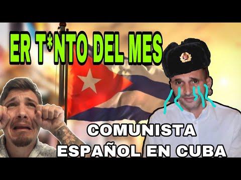 COMUNISTA ESPAÑOL PIDE AYUDAD DESDE CUBA