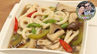 Быстрый Куриный суп в сковородке за 15 минут. Азиатская кухня. Быстро, питательно и очень вкусно.