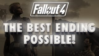 Fallout 4 Best Good Ending Possible Peace between Railroad, Brotherhood and Minutemen