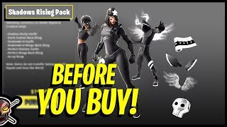 Before You Buy The SHADOWS RISING Pack in Fortnite!