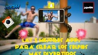 Las 5 mejores apps para crear las selfies mas divertidas