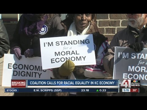 Coalition calls for racial equality in Kansas City economy