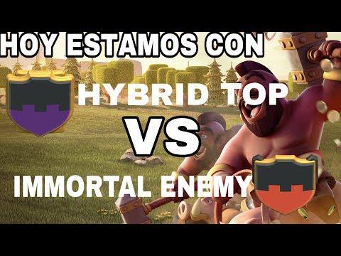 GUERRA TOP TOP TOP  TDC HYBRID TOP VS IMMORTAL ENEMY