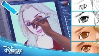 Disney Channel Star Portrait: Peyton List | Behind The Scenes | Official Disney Channel UK