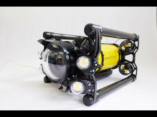 Новый дрон для подводной съёмки из Новой Зеландии