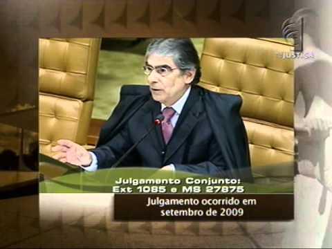 Grandes Julgamentos do STF: Extradição Cesare Battisti - parte 1 (01/07/11)