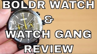 ► BOLDR Kickstarter Watch & Watch Gang Review - $25 Monthly Subscription + Weekly Rolex Prize Draw