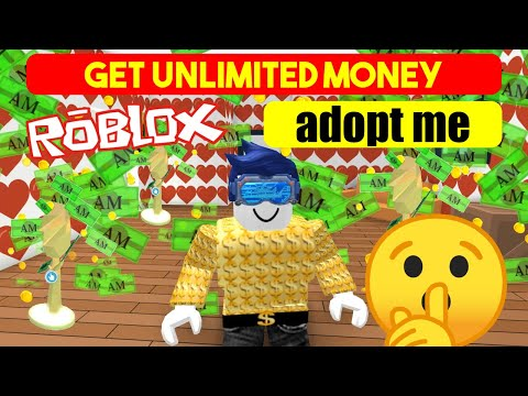 Get Unlimited Money With A Roblox Adopt Me Money Tree Farm Youtube