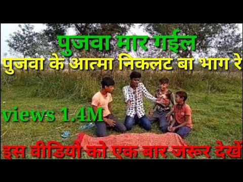 Bhojpuri Comedy || Pujawa Mar Gail | Pujwa Mar Gail | Pujwa Mar Gail Dj Song |sameer Kumar Comedy |p