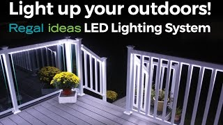 Gambar cover Light up your Outdoors with Regal ideas LED Lighting System!
