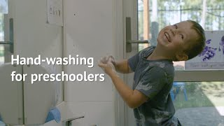Hand-washing for preschoolers explained
