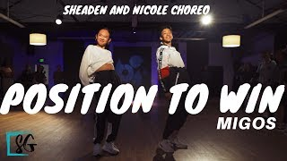 Position To Win Migos Choreo by Sheaden Gabriel and Nicole Laeno