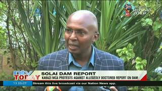 Kabazi MCA protests against allegedly doctored report on Solai dam