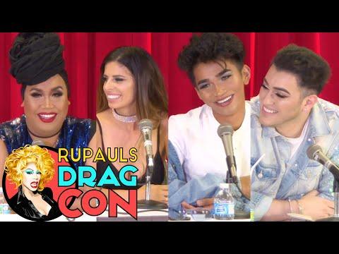 America's TOP Beauty Bloggers w/ Bretman Rock, Manny MUA, Patrick Starrr & Laura Lee @ DragCon 2017