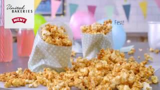 Karamell popcorn - United Bakeries